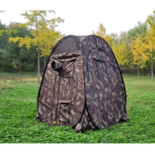 Single hide!Portable Privacy outdoor watching Pop Up Tent Camouflage/UV function