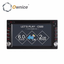 Ownice C500 Universal 2 din Android Octa 8 Core Car DVD Multimedia Video player GPS Wifi BT Radio 4G SIM LTE Network DVR OBD DAB