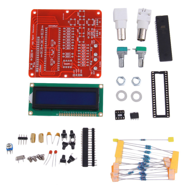 2016 Newest DDS Function Signal Generator Module DIY Kit Professional Sine Square Sawtooth Triangle Wave