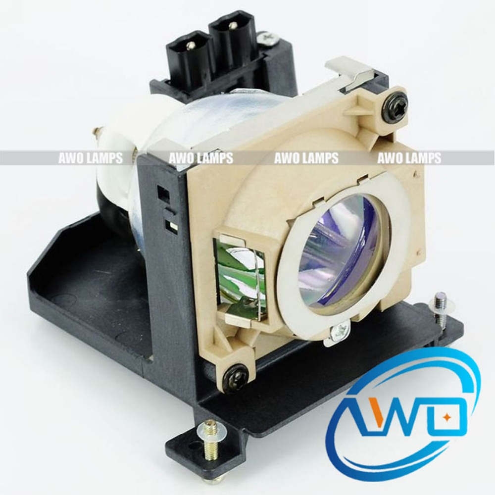 AWO Cheap Compatible Projector Lamp VLT-XD200LP for MITSUBISHI LVP-XD200U/SD200/SD200U/XD200/XD200U Replacemet with New Housing  vlt xd200lp replacement projector lamp with housing for mitsubishi lvp xd200u sd200u xd200u lvp sd200u