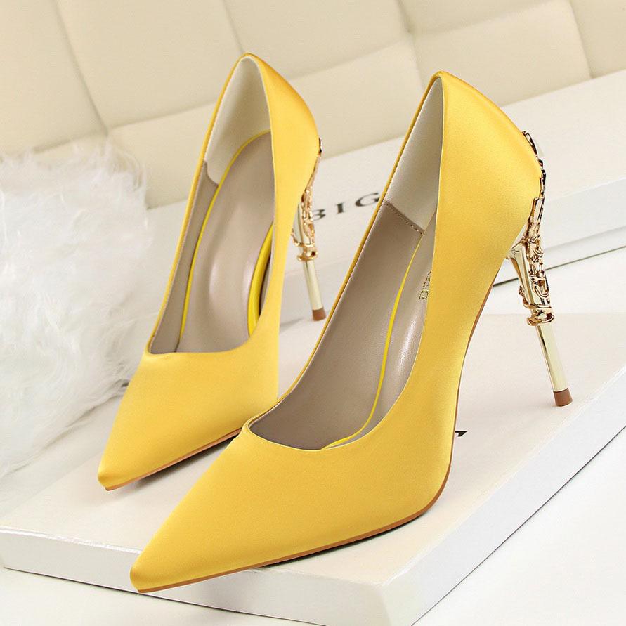 high heels yellow (2)