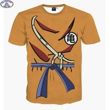 Mr.1991 Newest listing youth fashion japanese anime Dragon Ball kongfu 3D t-shirt boys big kids teens t shirt children tops A16