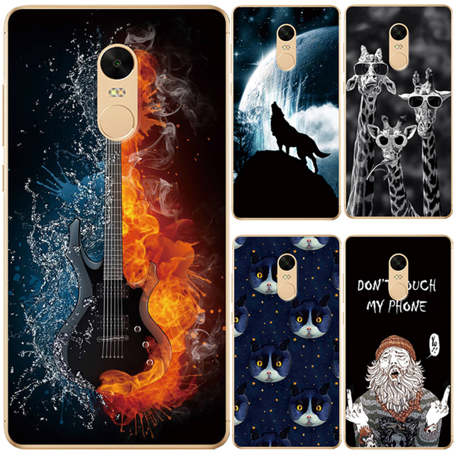 brand new 88e7f 321a6 US $0.98 15% OFF|For Xiaomi Redmi Note 4 4X Case Phone Cover Printing  Drawing Case For Redmi Note 4 4X Pro Silicone TPU Soft Phone Back Cover-in  ...
