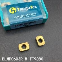 10 шт. BLMP 0603R M TT9080 карбидные вставки лезвие фрезерный станок BLMP0603R CNC инструмент ножевая пластина инструмент