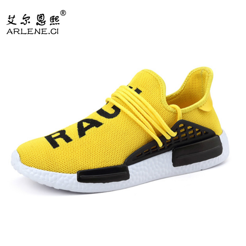 Tenis Maculino 2016 New Lovers Casual Shoes Loafers Breathable Mesh Jogging Flat Men Women Trainers Shoes Basket Chaussure Homme