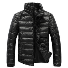 Fashion Slim Good Quality Mens Winter Jackets And Coats Waterproof Stand Collar Abrigos Hombres Invierno