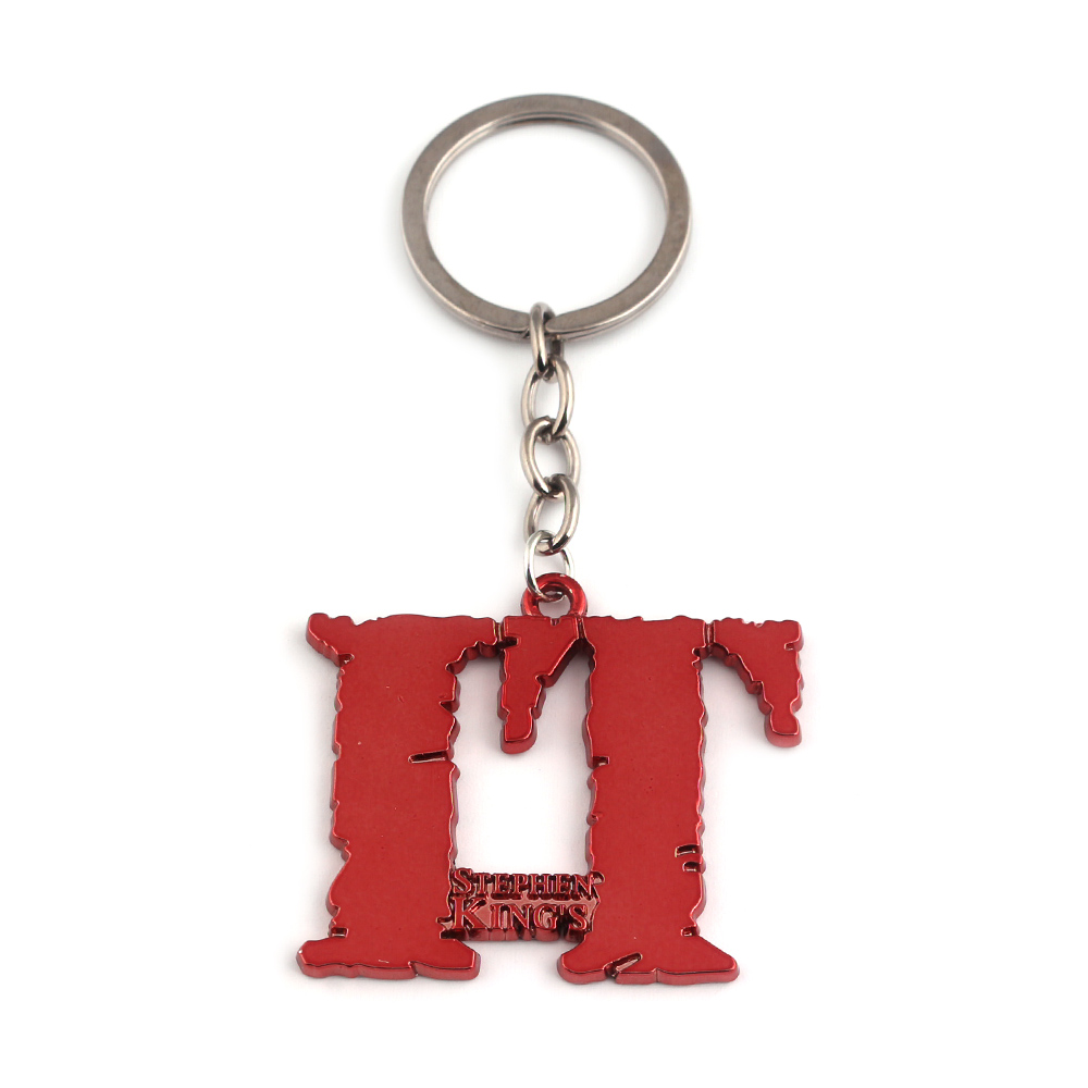 Horror Movie Stephen King/'s IT Design Logo Alloy Key Chains Keychain Keyring