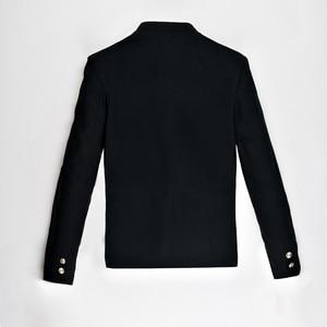 Image 4 - Free Shipping New Japanese senior middle school uniform male mens Suzura slim blazer chinese tunic jacket top Korean coat