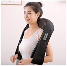 Electrical shiatsu massager neck massage device electric back shoulder massage belt massage kneading back roller machine shiatsu massage