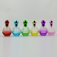 1pcs 30ML Stylish Portable Transparent Glass Refillable perfume bottle with empty cosmetic container