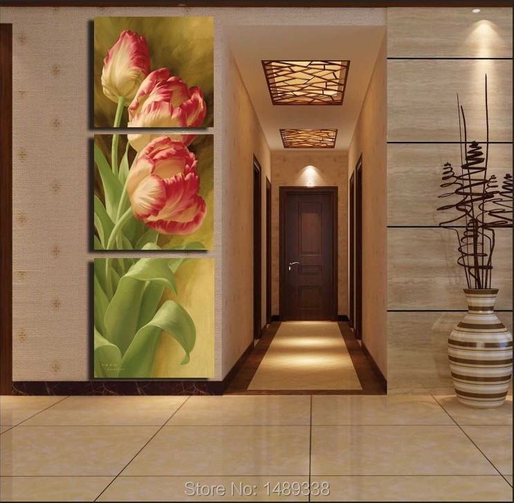 3 Pieces Free Shipping Popular Hot Sell Modern Wall