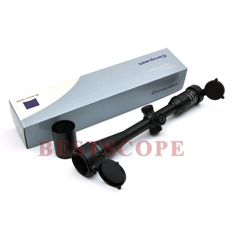 Carl Zeiss 4-16X40 White Optics Riflescope Hunting Scope Reticle Fiber Sight Scope Rifle Airsoft Rifles carl zeiss touit 1 8 32