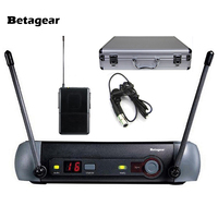 Betagear PXG14 Lavalier lapel Mic Professional Microphone Wireless Karaoke System uhf mics Microfono WL93 PXG for small stage