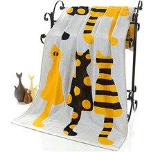 Cartoon Towel Bath Cotton Gauze Adult Textile Large Thick Hotel Bathrobe Beach Shawl Children Blanket