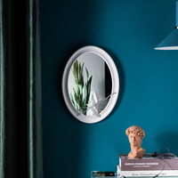European Style Living Room Decorative Mirror Wall Decoration Wall Hanging Mirror Background Wall Hanging Mirror
