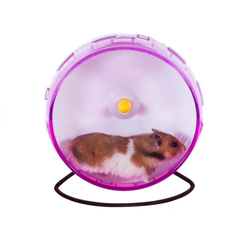 21 cm big silent hamster chinchilla running exercise wheel for Discount guinea pig supplies