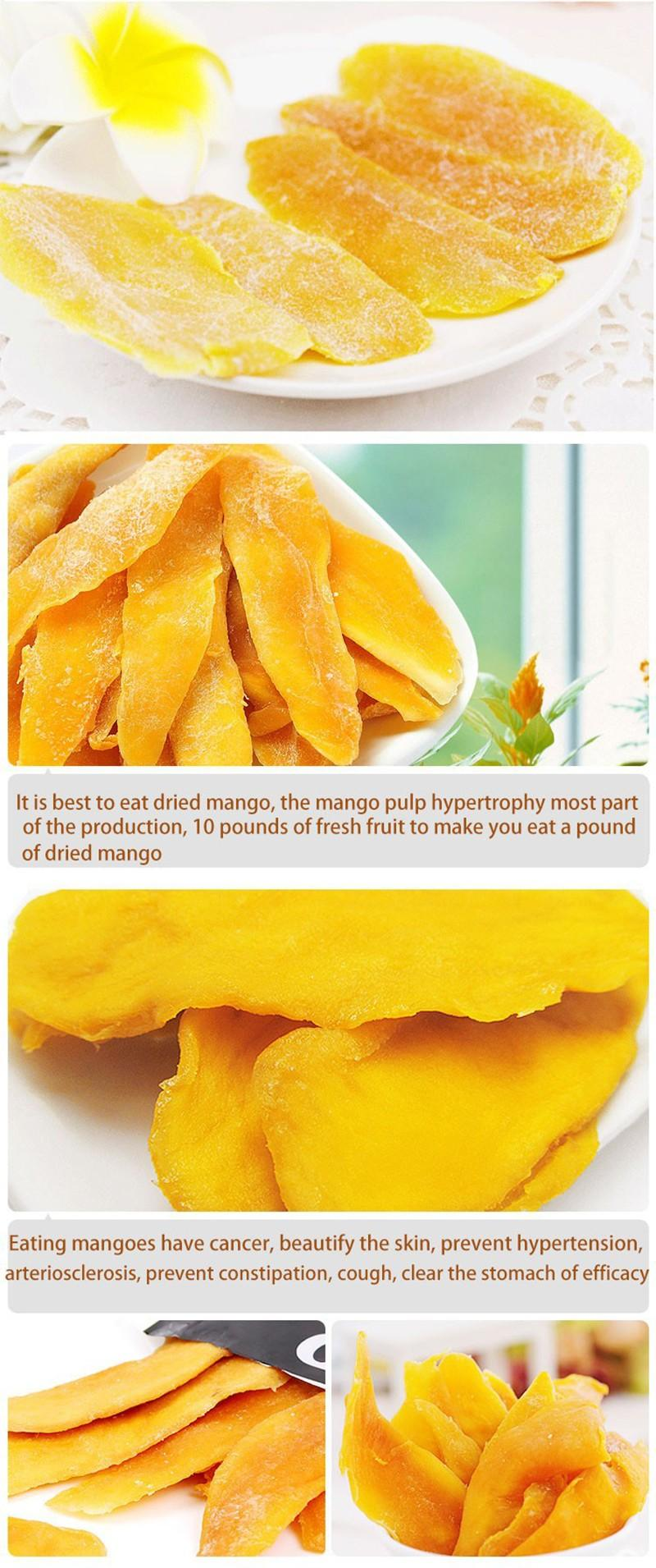 Mango Tea Instant Snack Dried Fruit Food Philippine Dried Mango Snacks 100g  Free Shipping