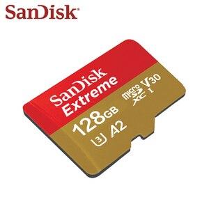 Image 4 - SanDisk tarjeta Micro SD U3 A1 Class 10 Original, 100%, 32GB, 100 MB/s, 128GB, 64GB, A2 V30, tarjeta de memoria SDXC, SDHC, TF