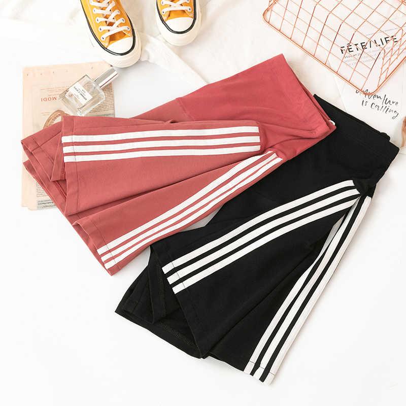 Summer Fashion 1/2 Length Maternity Shorts Elastic Waist Cotton Clothes for Pregnant Women Pregnancy Short Pants