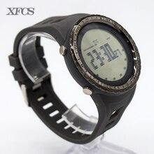 XFCS impermeable digital de muñeca automático relojes para hombres reloj running mens hombre reloj de buceo de natación tendencia digitales digitais tt