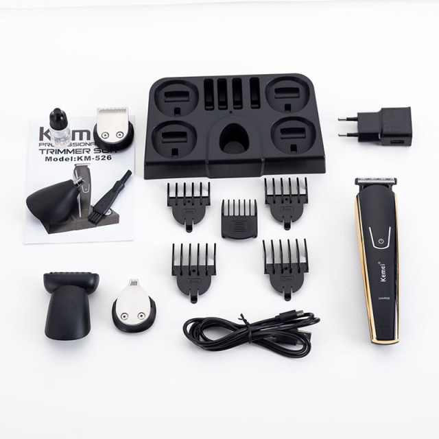 Best Kemei 5 in 1 Electric Shaver.