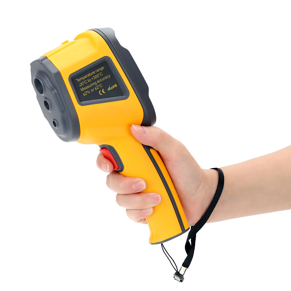 HT-02 Handheld Thermal Imaging Camera With Digital Display For Temperature Measuring 7