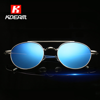 Non Slip Arms Vintage Polarized Sunglasses Women Retro Round Glasses Circular Design Lunettes Homme Sunglass With