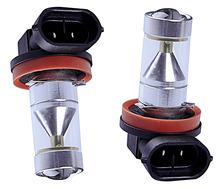 2 sztuk High Power H8 H11 H16 biały 30W 6LEDs lampa przeciwmgielna lampa do jazdy dziennej DC 9-24V 1360 lm para dla Auto samochód SUV ciężarówka typu Pickup tanie tanio Yadasatuna 12 V Spot Cree