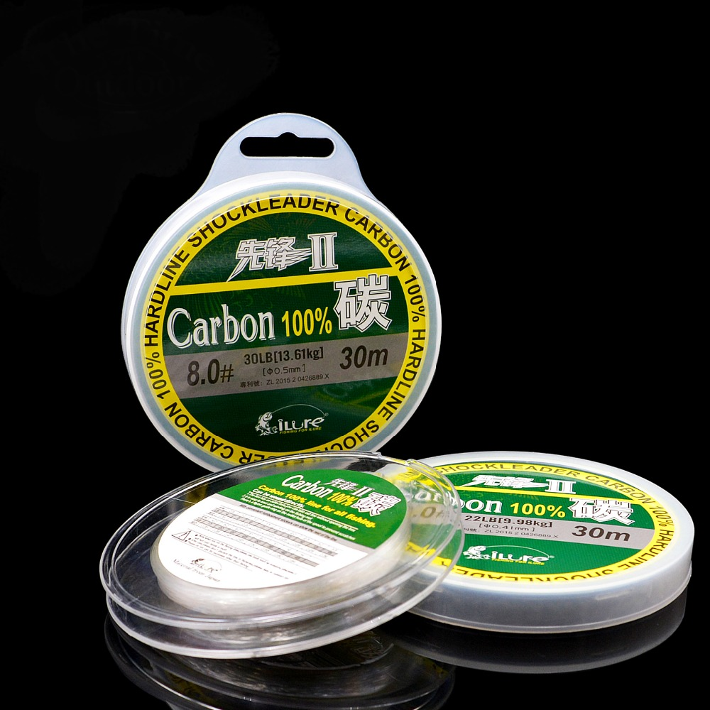 Buy 1 piece 100 fluorocarbon fishing for Fluorocarbon fishing line