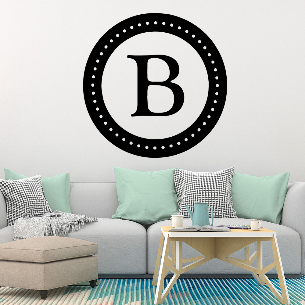 Amusing Letter B Home Decorations Pvc Decal Kids Room Nature Decor Diy Pvc Home Decoration Accessories in Wall Stickers from Home Garden