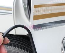 Аварии барьеры задний багажник двери литье в полоску черно белый цвет бампер для Toyota Land Cruiser Prado FJ 150 120 интимные аксессуары