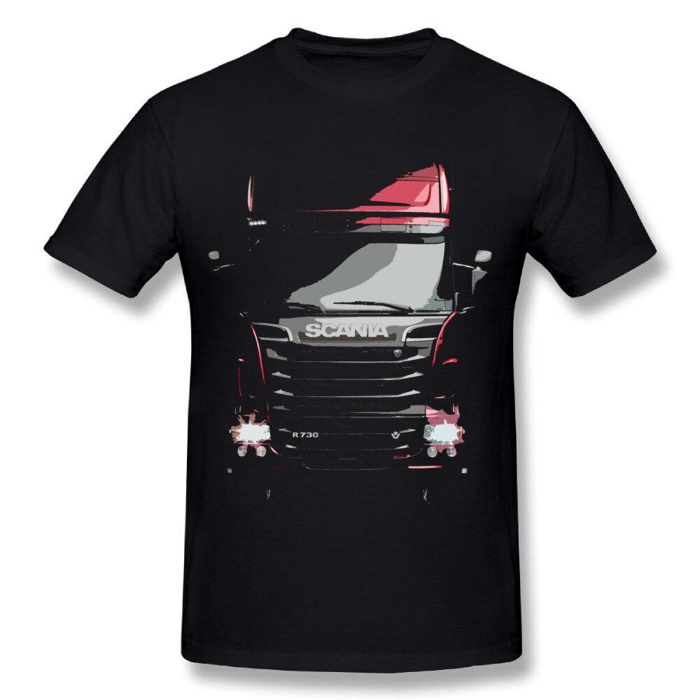 2018 New Design Scania Truck Saab T Shirts Man Retro Design Boy Nice Homme Tees Summer Streetwear Camiseta