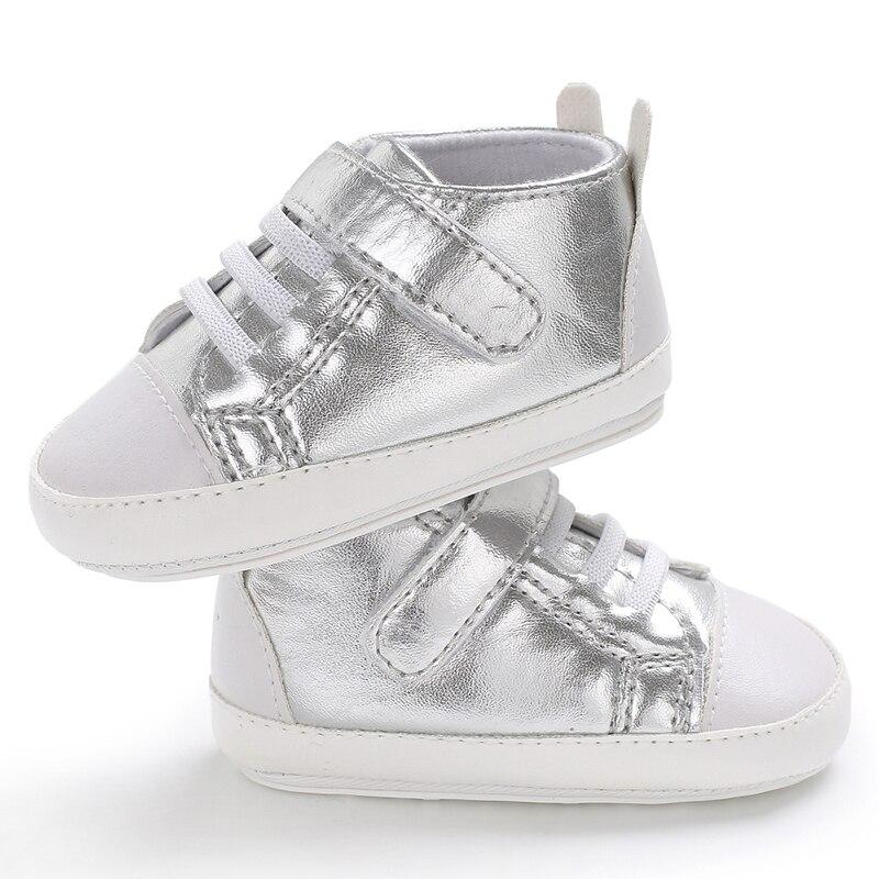 Hard Rubber Bottom Baby Shoes Niemowlęcy spacerowicze Moda PU Skóra - Buty dziecięce - Zdjęcie 2