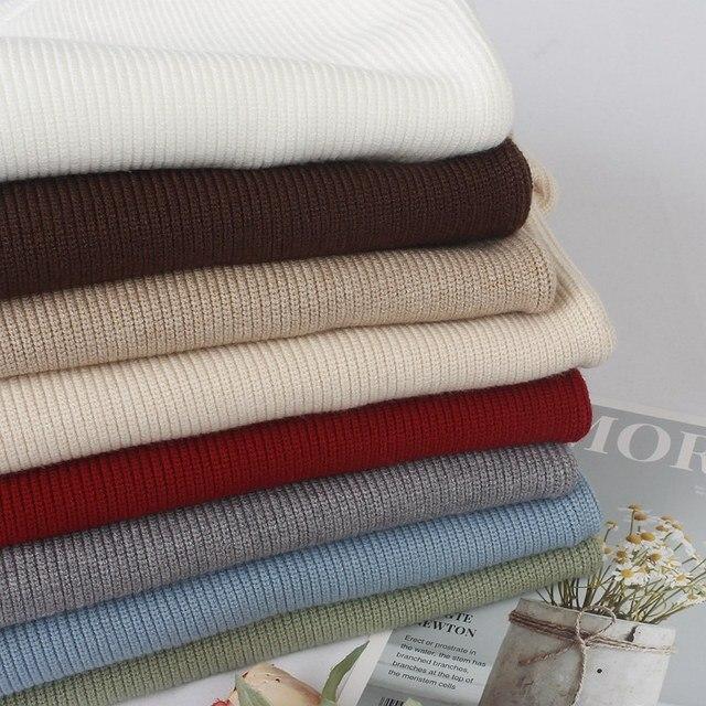 GIGOGOU Grundlegende Hohe Qualität Dick Gestrickten Pullover Herbst Winter Warme Weibliche Pullover Pullover Top Weiche Lange Ärmeln Weibliche Jumper