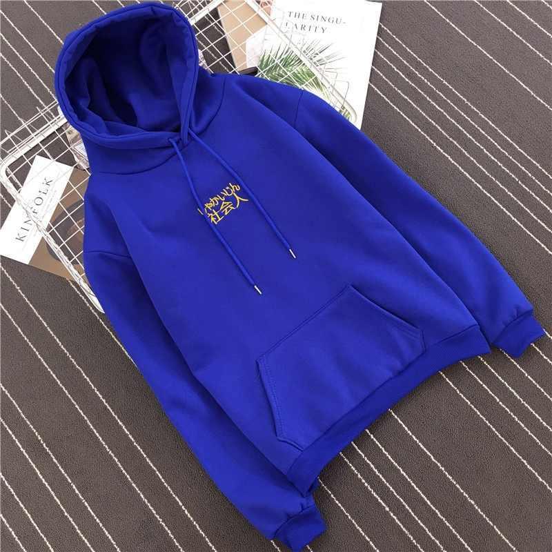 Пуловер с длинными рукавами и вышивкой с буквами; толстовки для женщин/Мужская толстовка; повседневные свободные свитшоты больших размеров; Femme; теплые утолщенные; YF3