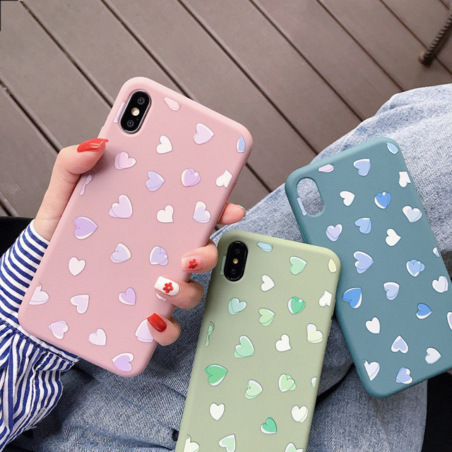 Love Heart Case Cover For Apple iPhone