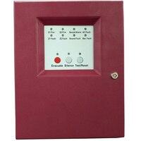 2 зоны Slave пожарная сигнализация панель управления мини пожарная сигнализация Система управления обычной безопасности хост пожарный контр