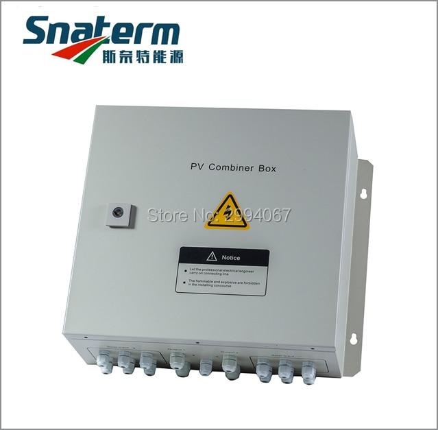 Photovoltaic Array Solar PV Combiner Box 4 String PV solar input array 1 PV solar output