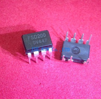 Ic Free Shipping >> Free Shipping 50pcs Lot Fsd200 Green Mode Power Switch Dip7 Ic
