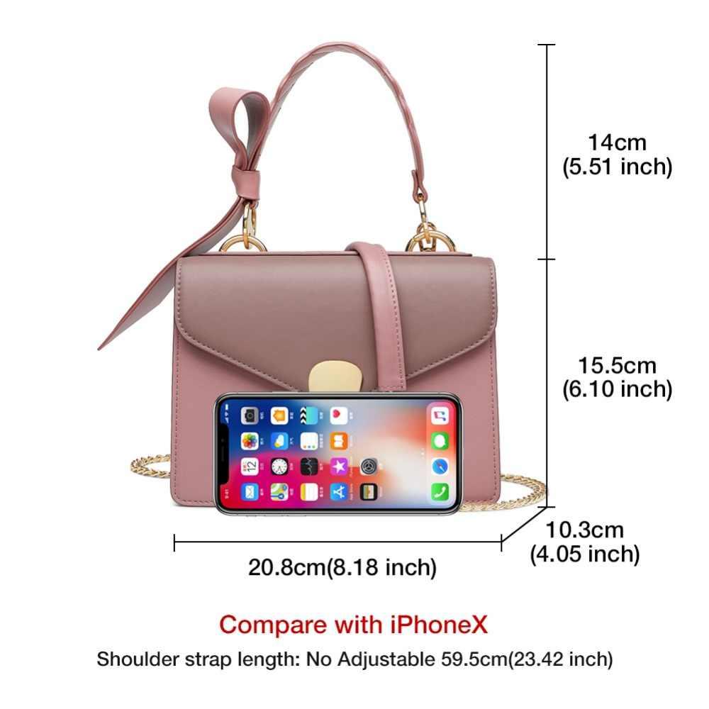 FOXER Brand 2019 New Female Korean Style Leather Shoulder Bags Women Stylish Elegant Messenger Bags Valentine's Day present