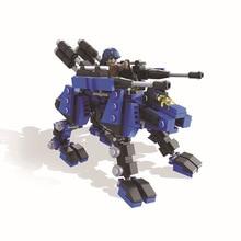 HSANHE 6223 Sacred Union Series Sharpness Wolf King Educational Diamond Bricks Minifigures Building Best Toys
