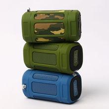 Hohe Qualität Lautsprecher Home Audio Theater System Drahtlose Wasserdichte Bluetooth Subwoofer Lautsprecher Für Radfahren Radfahren Outdoor Sports