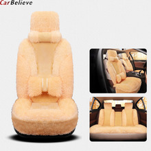 цена на Car Believe car seat cover For peugeot 206 407 508 308 301 3008 2017 205 106 307 207 406 accessories covers for vehicle seats