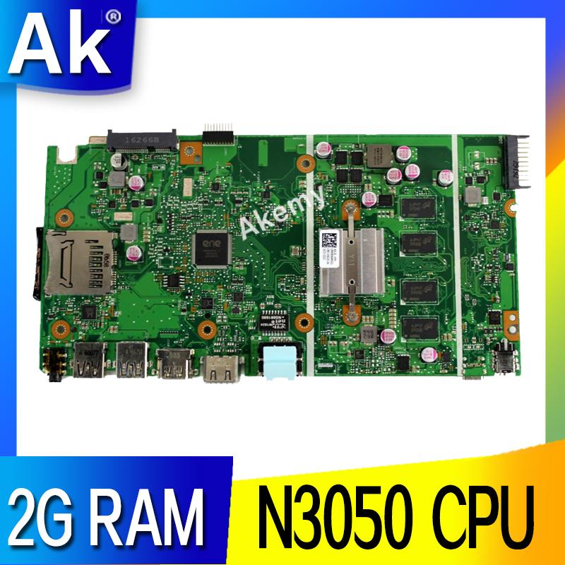 AK X540SA Laptop <font><b>motherboard</b></font> for <font><b>ASUS</b></font> VivoBook X540SA X540S <font><b>X540</b></font> F540S Test original mainboard 2G RAM N3050 CPU image