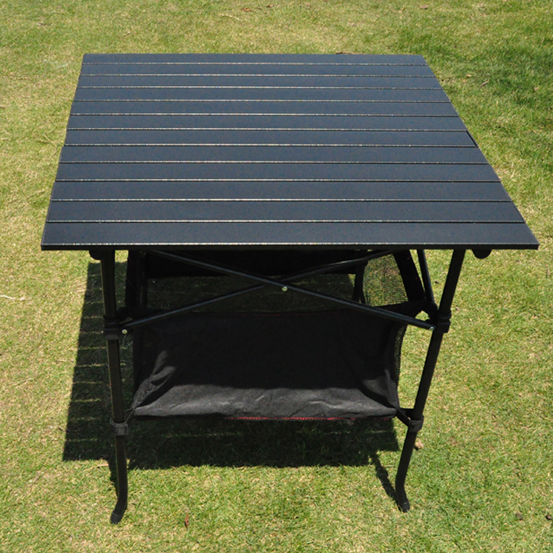 Outdoor Draagbare Klaptafel Aluminium Park Leisure Camping barbecue Tafel dragende 80KG - 4