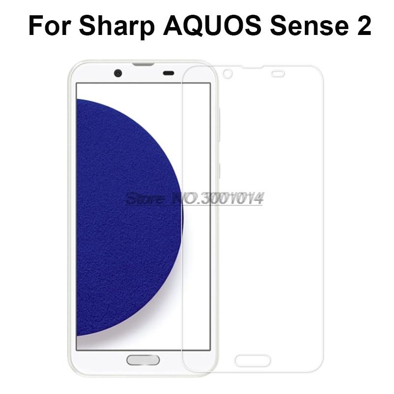 Sharp Aquos Sense2 Tempered Glass Explosion-proof Screen Protector Glass For Sharp AQUOS Sense2 SH-01L/SHV43 Mobile Phone Film