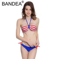 New 2017 Beachwear Low Waist Bathing Suit Halter Swimwear Solid Swimsuit Sexy Bikinis Bikini Set