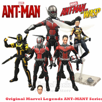 Marvel Legends 6 Wasp Ant Man Yellow Jacke Action Figure BAF GiAnt Man Ant Man Lady Avengers Infinity War Collectible Original