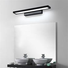 11 w conduziu a luz da parede do banheiro espelho luz à prova dwaterproof água moderna lâmpada de parede acrílico iluminação banheiro AC85 265V