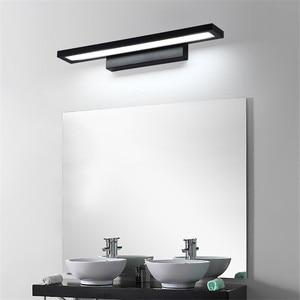 Image 1 - 11W LED Wall light Bathroom Mirror Light Waterproof Modern Acrylic Wall Lamp Bathroom Lighting AC85 265V